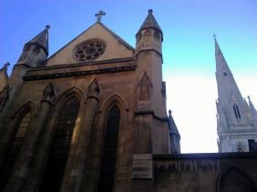 American Cathedral's Back Door