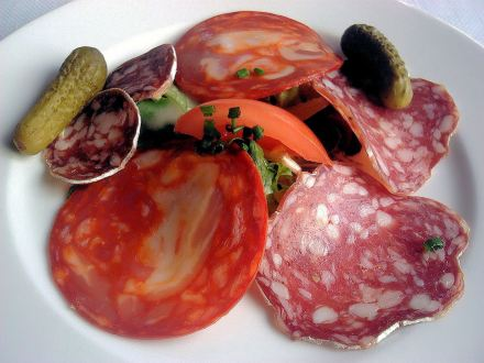 French Cold Cuts / Assiette de Charcuterie