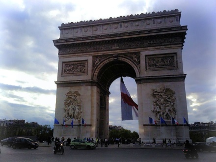 Arc de Triomphe May 8, 2012