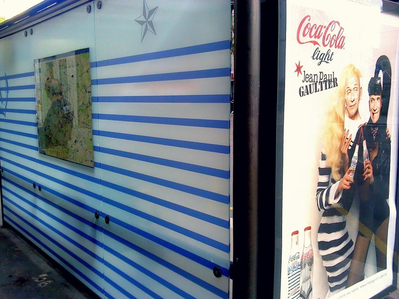 Jean-Paul Gaultier Cross Dressing Coke Light Bus Stop