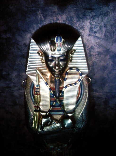 King Tutankhamun Middle Coffin (replica)