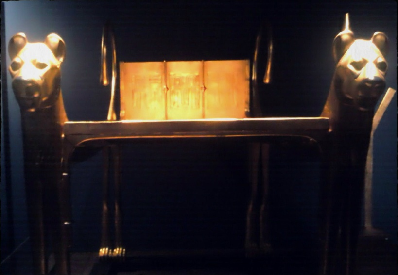 King Tutankhamun Exhibit, Porte de Versailles, Paris, France 2012
