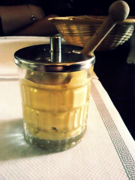 French Mustard Jar / Pot de Moutarde