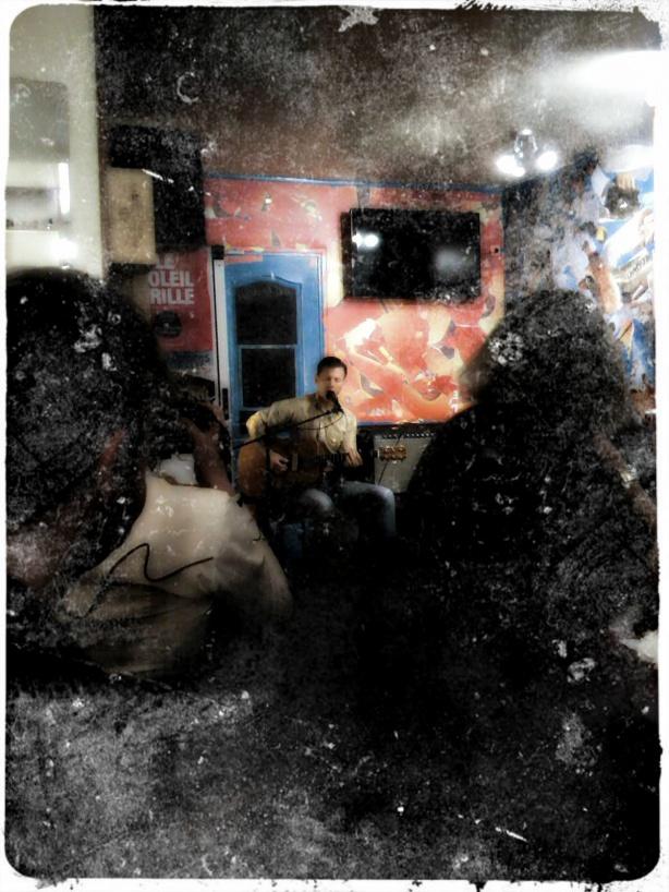 Jake La Botz @ Omar's Hony Tonk [aka l'Annexe Kawa] 2012-06-07