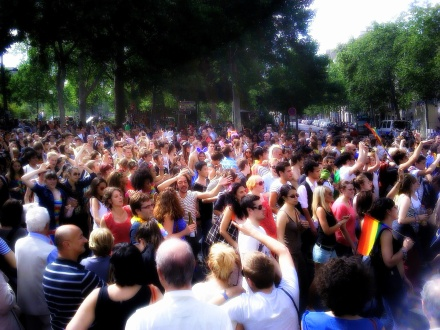 Gay Pride - Paris 2012