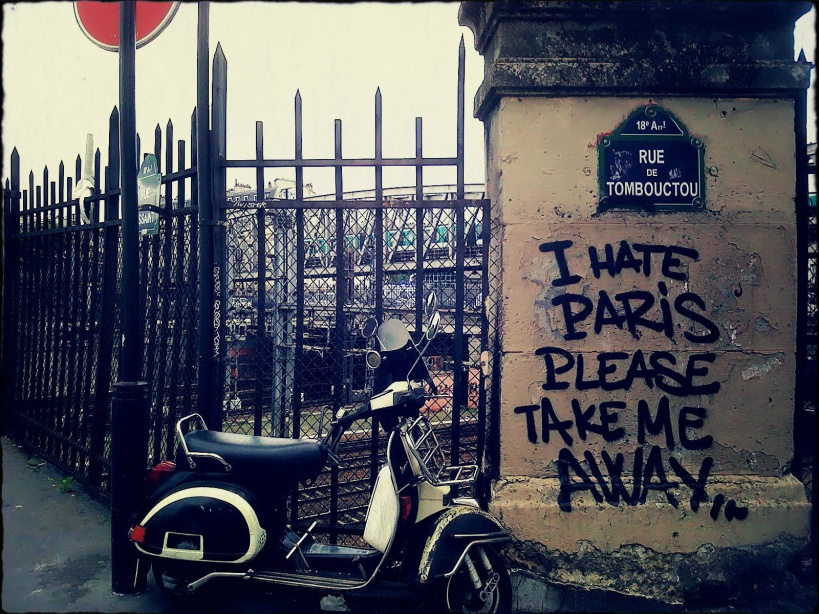 Please Take Me Away / rue Timbuktu / Tombouktou, Paris
