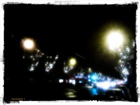 Christmas Lights on Avenue des Ternes (Paris)