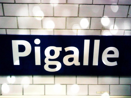 Pigalle Metro (Paris Paul Prescott)
