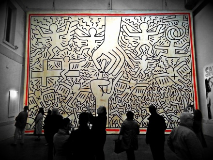 Used 2013-05-11 Keith Haring Untitled 1985 20130510_132120ebc Used