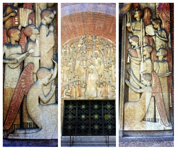 Used 2013-09-01 Église Sainte-Odile Church (Paris Paul Prescott) Collagec Sunday Used