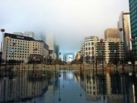 Used 2014-02-03 Grande Arche in the Fog (Paris Paul Prescott) IMG_20140131_092911c Sunday Used