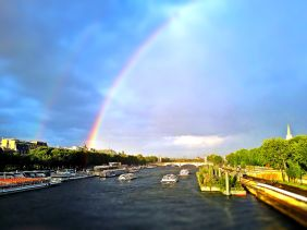 Used 2014-05-06 Rainbow on the Seine (Paris Paul Prescott) IMG_20140506_202711b-tiltshift Sunday Used